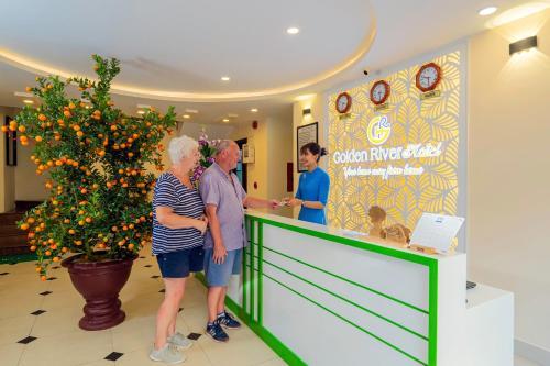 Gäste, die in der Unterkunft Golden River Hotel übernachten