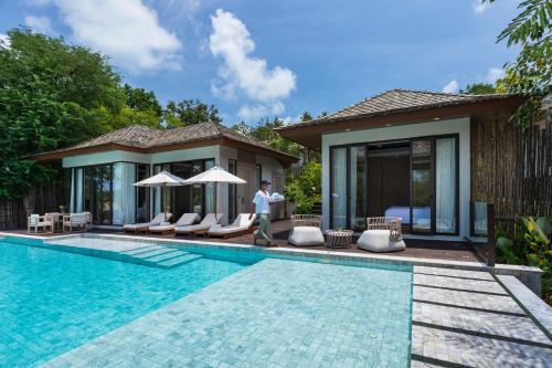The swimming pool at or near Cape Fahn Hotel Samui - SHA Plus Certified