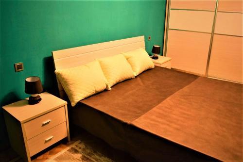 Cama ou camas em um quarto em Central Park Apartment