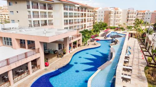 Uma vista da piscina em Beach Park Resort - Wellness ou nos arredores