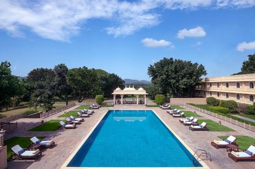 The swimming pool at or near Trident Udaipur