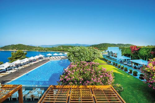 A bird's-eye view of Skiathos Palace Hotel