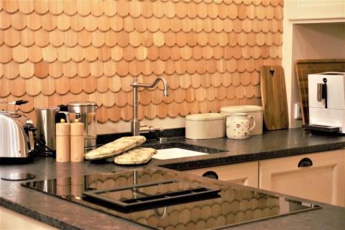 Küche/Küchenzeile in der Unterkunft Chalet Watzmann