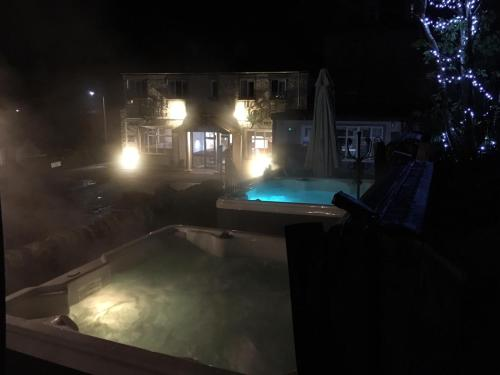 The swimming pool at or near Loch Long Hotel
