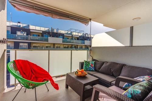 A balcony or terrace at Apartament Sotavento