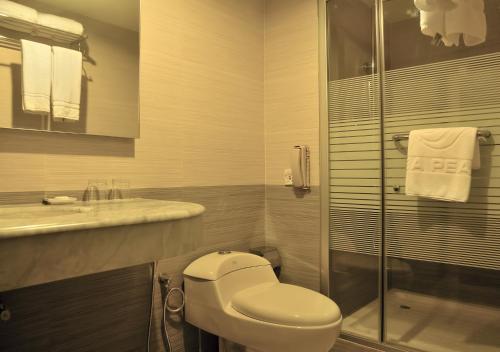 A bathroom at Royal Tulip Sea Pearl Beach Resort & Spa Cox's Bazar