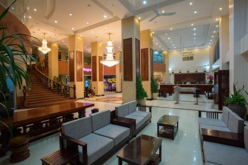The lobby or reception area at MekongView 1 CondoTel