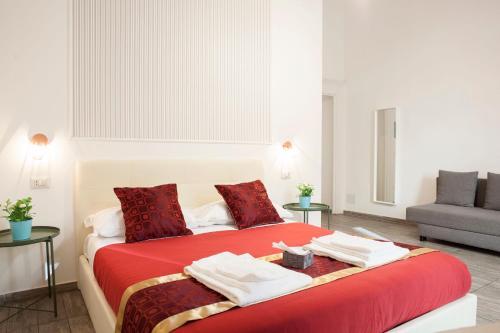 Letto o letti in una camera di B&B Martucci Avenue