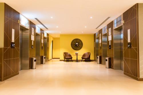 منطقة الاستقبال أو اللوبي في Hibatullah Hotel Makkah managed by Accorhotels