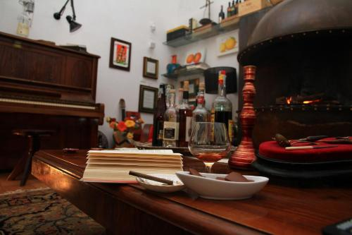 A restaurant or other place to eat at Agriturismo Villa Lupara