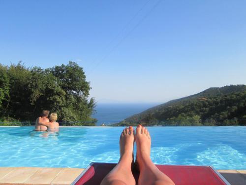Guests staying at Agriturismo Villa Lupara