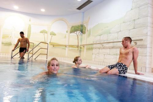 The swimming pool at or close to Art Hotel Superior