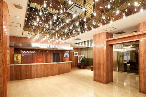 The lobby or reception area at Marroad Inn Akasaka