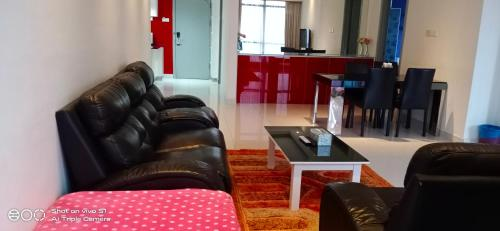 A seating area at Bintang Service Suite at Times Square