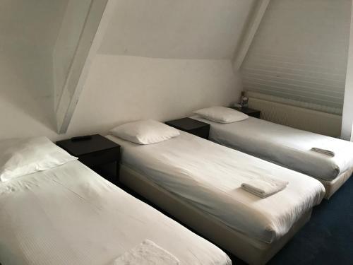 Un ou plusieurs lits dans un hébergement de l'établissement Budget Hostel Sphinx