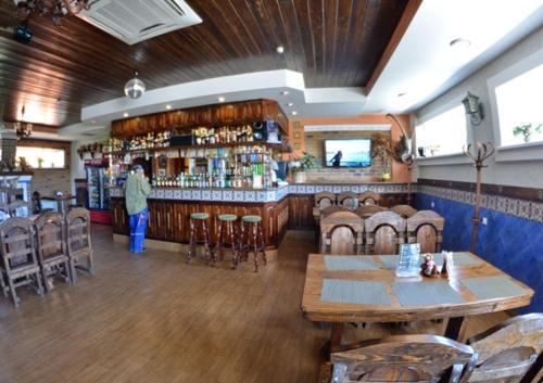 Лаундж или бар в Мотель Илевники
