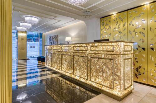 El vestíbulo o zona de recepción de Hotel Borges Chiado