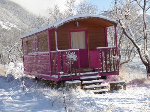 L'établissement Ferme Saint Pierre en hiver