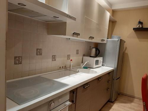 Кухня или мини-кухня в Мини-Отель Намасте