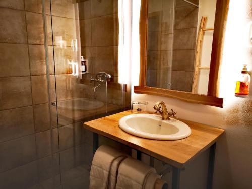 Kúpeľňa v ubytovaní Hotel Ribno Superior