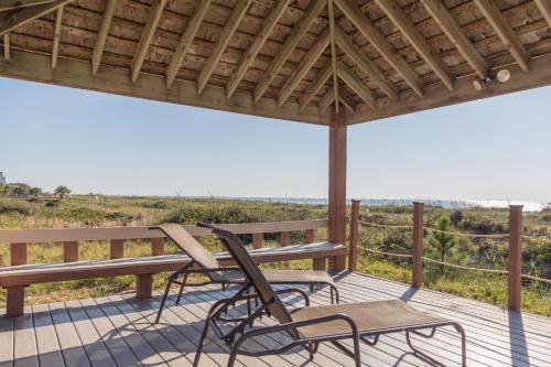A balcony or terrace at Island Club 3