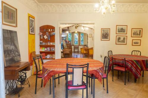 O lounge ou bar de Hostal Rio Amazonas