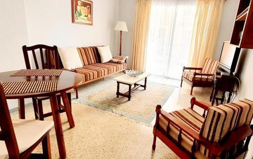 Zona de estar de Apartamentos Kitema