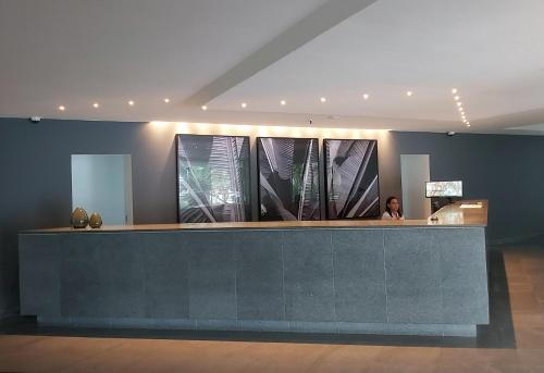 The lobby or reception area at Residencial Portal da Barra