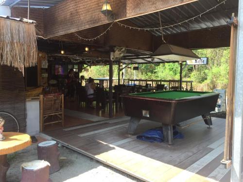 A pool table at MM Villa Kon Ao