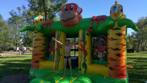 Aire de jeux pour enfants de l'établissement Paradis Des Dombes