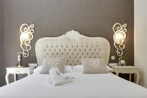 Cama o camas de una habitación en Kursaal - Basque Stay
