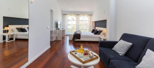 Zona de estar de Hotel Gran Claustre Restaurant & Spa