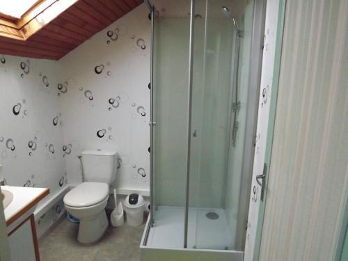A bathroom at Chez Lili