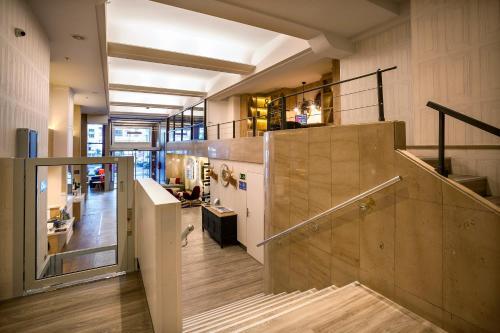 De lobby of receptie bij Hotel San Sebastián Orly, Affiliated by Meliá