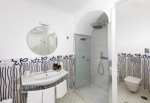 Bagno di Hotel Le Agavi