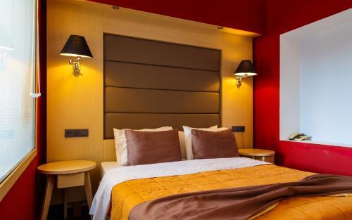 Un ou plusieurs lits dans un hébergement de l'établissement Dodeca Sea Resort