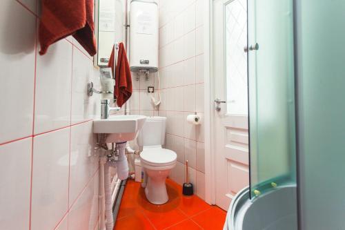 Ванная комната в ПитерДом Черная Речка