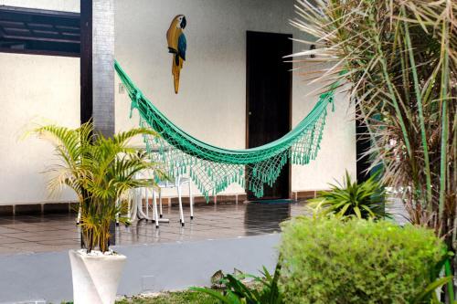 A porch or other outdoor area at Pousada Luau de Maricá