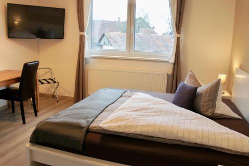 Ein Bett oder Betten in einem Zimmer der Unterkunft B&B Chez Meinen