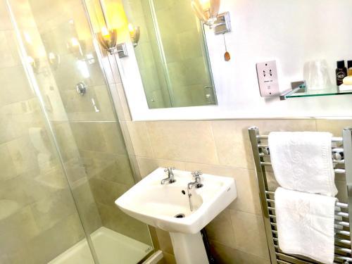 A bathroom at Dinham Hall