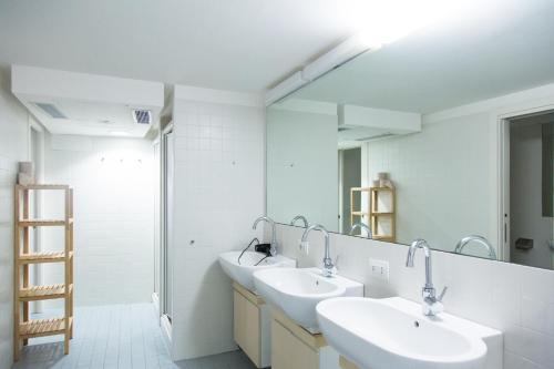 Salle de bains dans l'établissement Combo Venezia