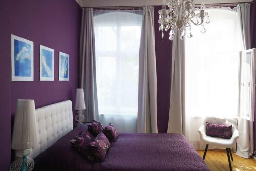 Ein Bett oder Betten in einem Zimmer der Unterkunft Boutique Hotel Mittendrin Berlin