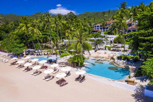 A view of the pool at Sheraton Samui Resort or nearby
