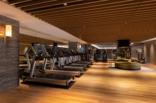 The fitness centre and/or fitness facilities at The Westin Miyako Kyoto