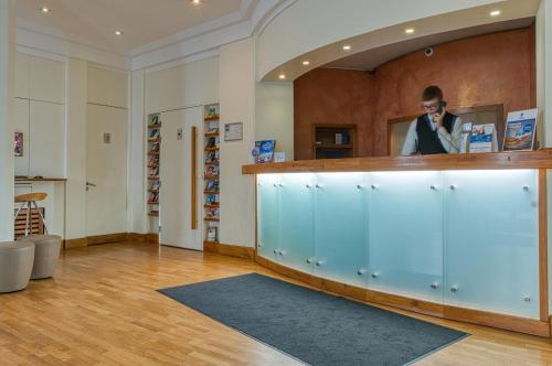 Lobby/Rezeption in der Unterkunft Best Western Hotel Bremen City