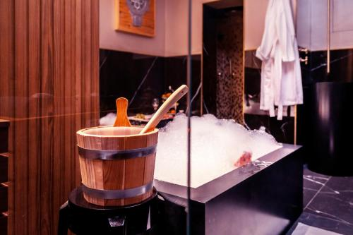 Salle de bains dans l'établissement Excess Venice Boutique Hotel & Private Spa