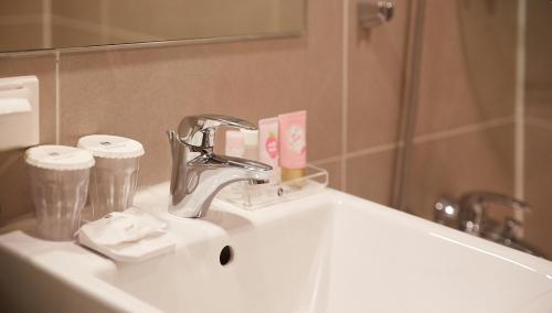 ホテル スカイパーク セントラル ミョンドンにあるバスルーム