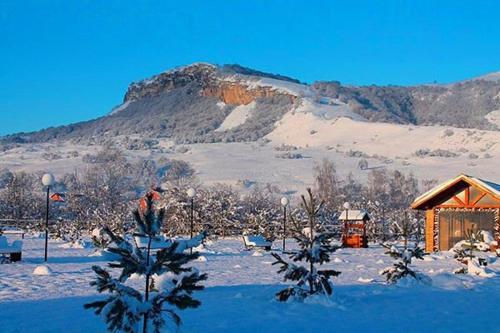 Гостевой Дом Лисья Нора зимой