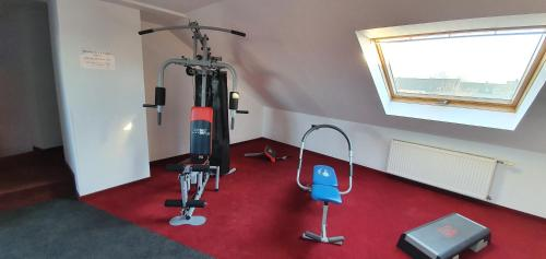 The fitness centre and/or fitness facilities at Akzent Hotel Oberhausen