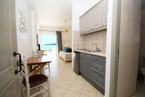 Η κουζίνα ή μικρή κουζίνα στο Panorama Apartments